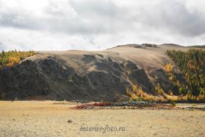 Курганы долины реки Каргы - Тува