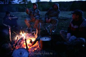 Вечерний костер - Каргы