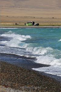 Лагерь на берегу Уурэг-Нуура