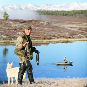 Рыбалка на Улаганских озерах