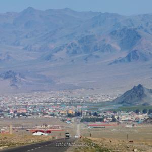 На подъезде к Улгию - Монголия