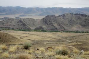 С подъема на перевал Коге-Даба - Тува