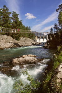 купить красивые фото Чемальская ГЭС