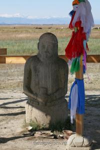 Каменный воин - Тува