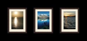 Классический триптих из фотографий книжного формата