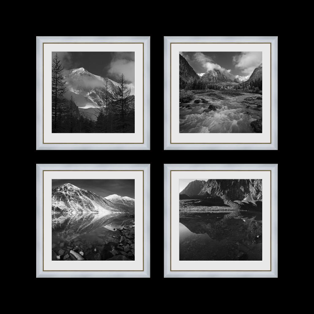 Классический полиптих из 4 фотографий