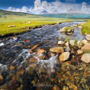 Река в Прихубсугулье