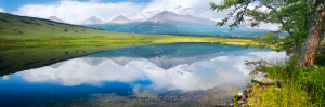 На озере Хухе-Нуур - Монголия
