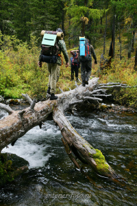 По пути к Стоктышским озерам - Саяны