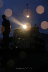 Ночная швартовка - Телецкое озеро