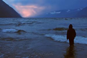 Перед штормом - Телецкое озеро