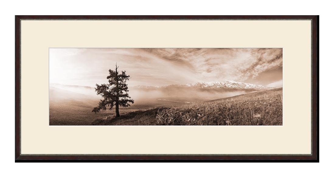 Панорамное фото в паспарту