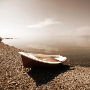 Фото сепия - Озеро Хубсугул. Монголия