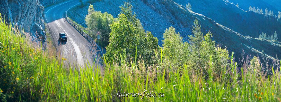 Чуйский тракт На перевале Чике-Таман