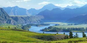 Панорама Катунь в Инегени