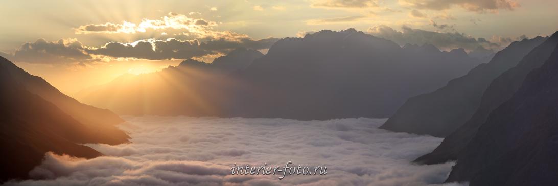 Облака над долиной Баксана