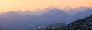 Рассвет в горах Архыза