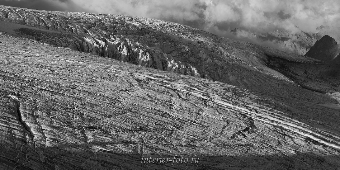Ледник Гарабаши на Эльбрусе