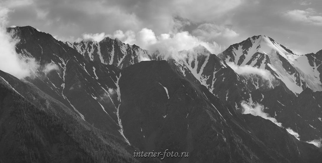 Непогода в горах Алтай