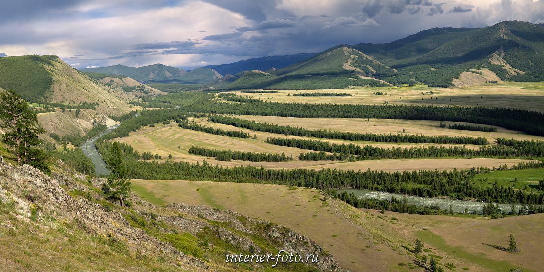 Вид с перевала Тьюмонак Аргут