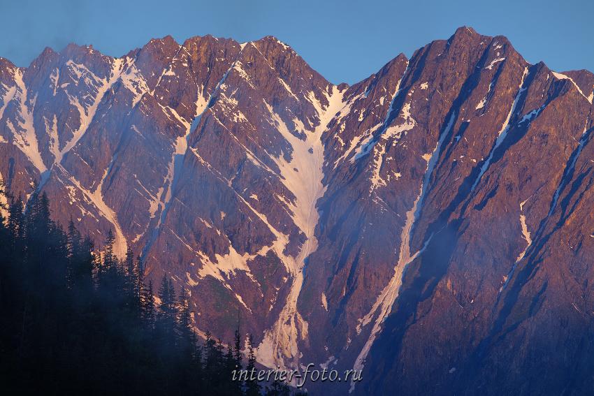 Рассветные вершины Аргут