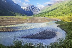 Долина Актру на Алтае