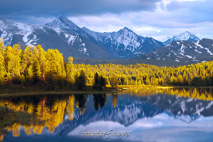 Озеро Киделю на Алтае