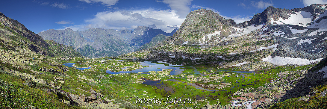 Панорама Висячая долина