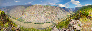 Панорама долины Чулышмана