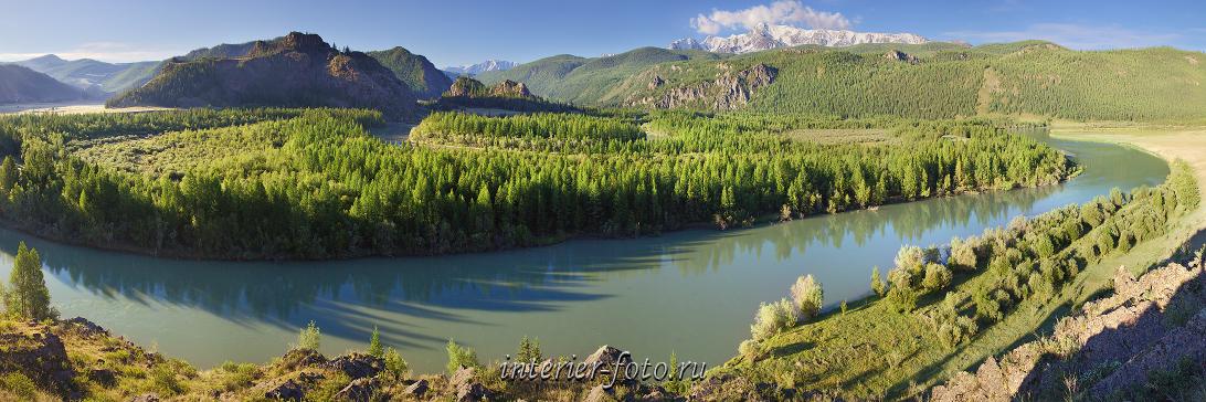 Панорама реки Чуя