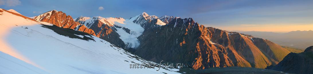 Алтайские горы Актру
