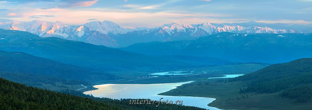 Алтайские горы Северо-Чуйский хребет