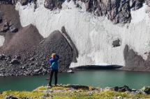 Алтайский туризм Горное озеро