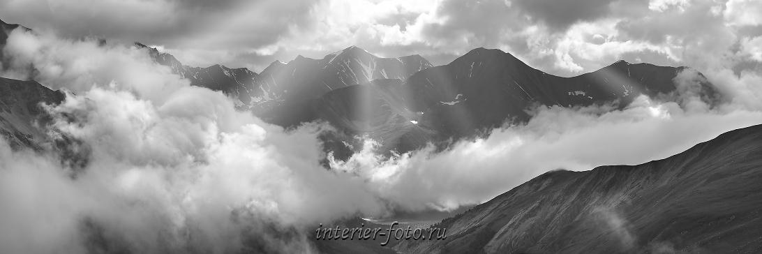 Черно-белые горы Алтая