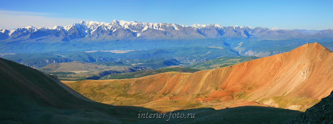 Цветная фотография Горы