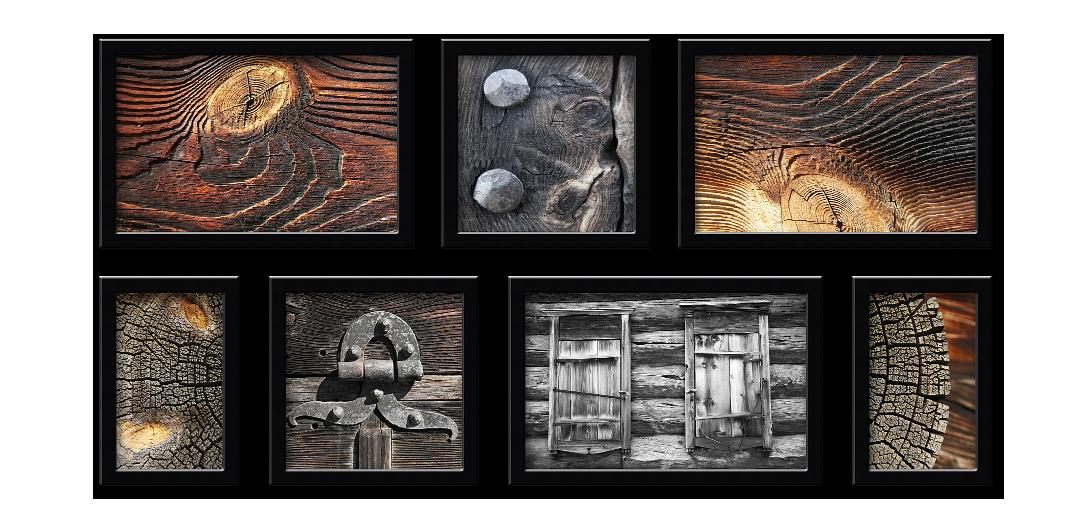 Деревенская серия Композиция из 7 фото