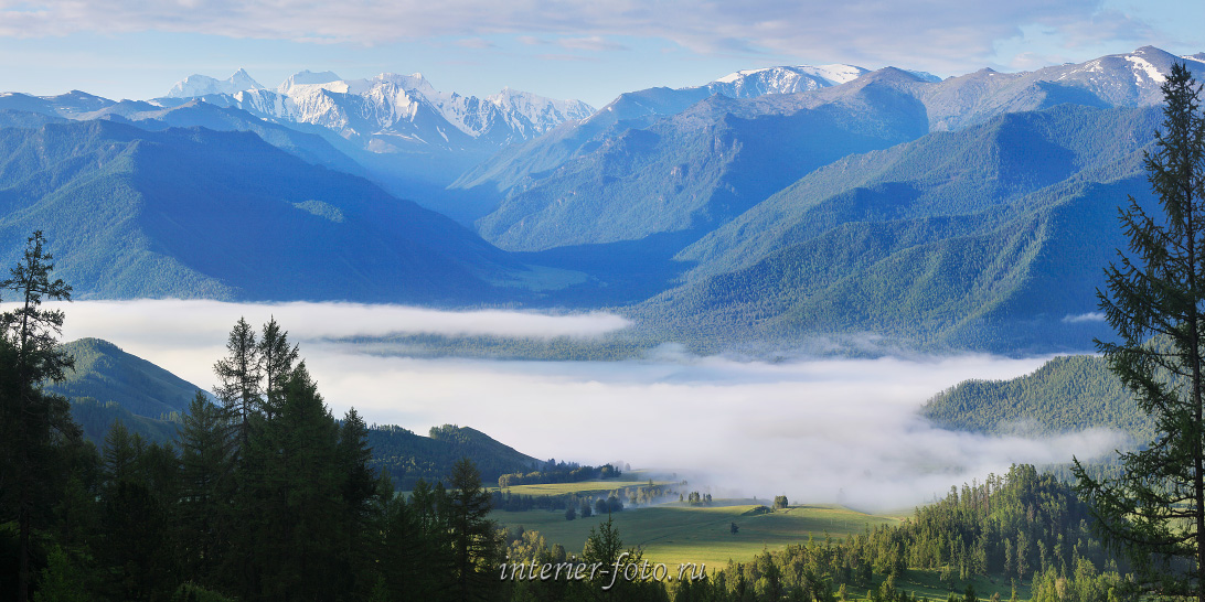Белуха с Тюнгурских гор. Алтай (66026)