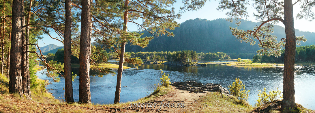 Фото реки Енисей