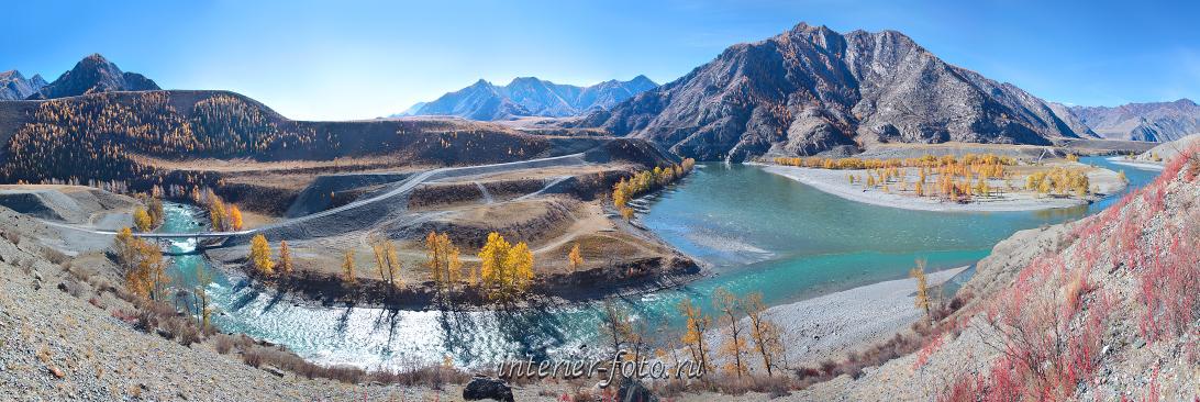 Чуй-Оозы — слияние Чуи и Катуни. Алтай (6468)