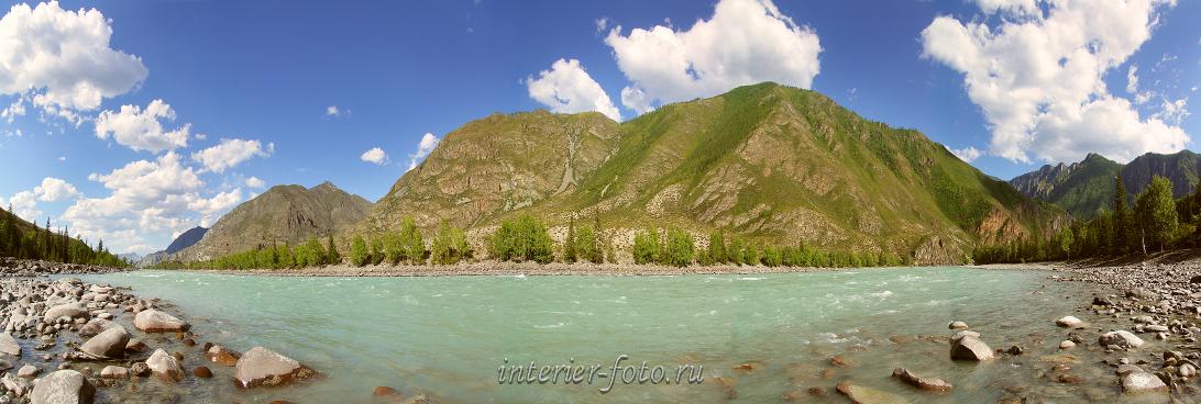 Катунь в Инегени. Алтай (6006)