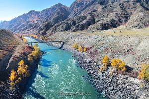 Фото воды Катунь