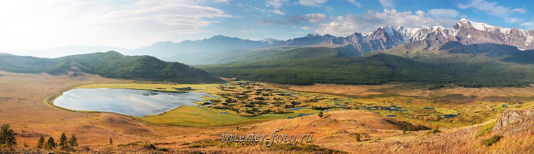 Красивый пейзаж природы