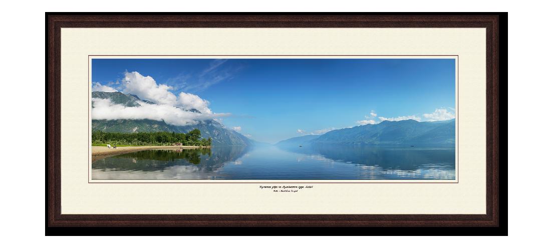 Красивый пейзаж Телецкое озеро