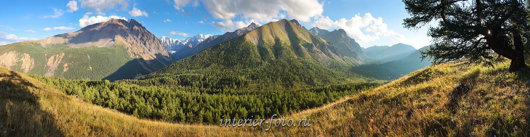 Места Алтая Долины Северо-Чуйского хребта