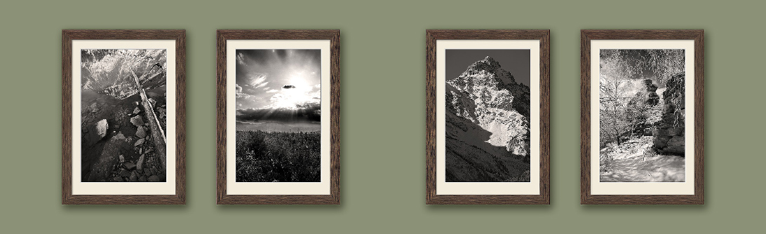 Набор пейзажей Серия 4 фото