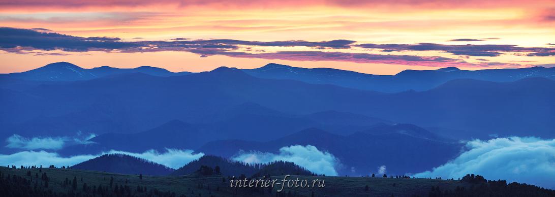Над облаками Рассвет