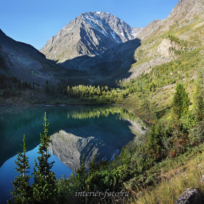 Отражение в воде Кулагаш