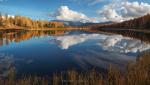 Озеро Киделю осенью