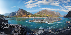 Природа в объективе Панорама Катуни