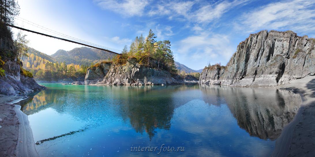 Панорамная фотография Чемал